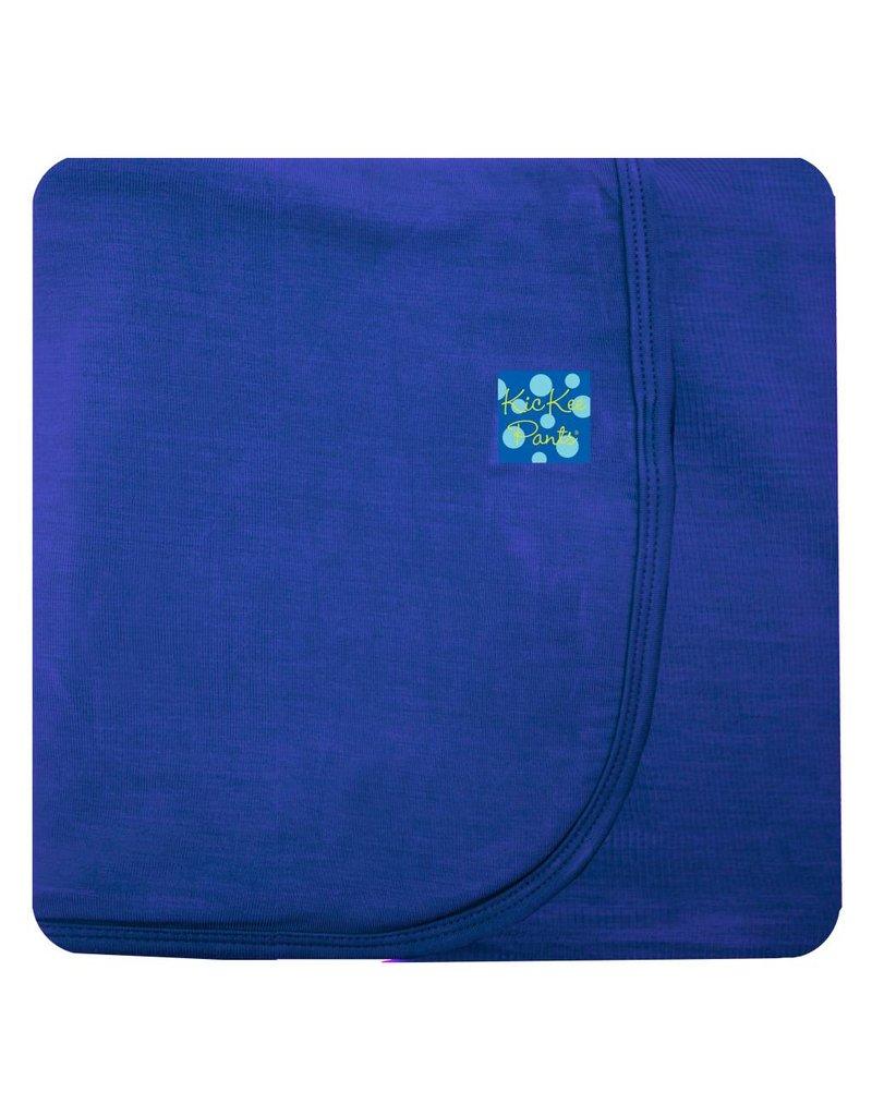 KICKEE PANTS Kite Solid Stroller Blanket