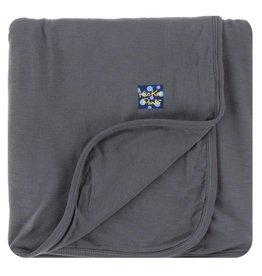 KICKEE PANTS Stone Solid Stroller Blanket