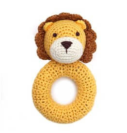 CHEENGOO Lion Ring Rattle