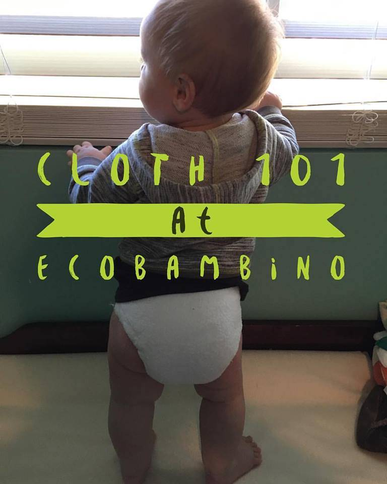 Cloth Diapering 101 - Saturday, August 19th!