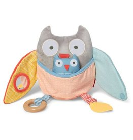 SKIP HOP Treetop Friends Owl Activity - Grey/Pastel