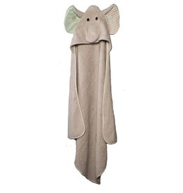 ZOOCCHINI Elle the Elephant Baby Hooded Towel