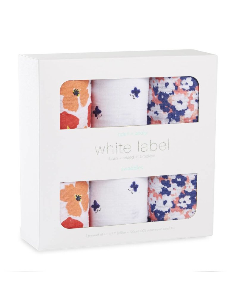 ADEN & ANAIS White Label Classic Swaddles - 3 pack