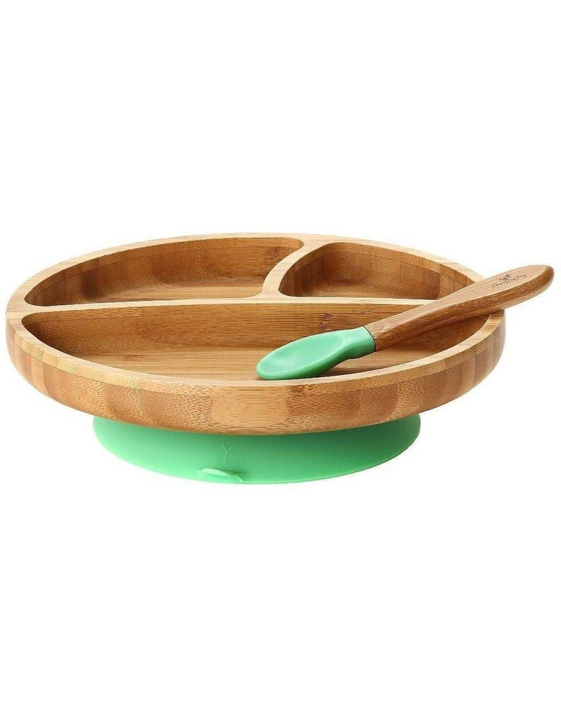 AVANCHY Avanchy Bamboo Suction Toddler Plate