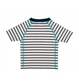 LASSIG Sailor Navy Short Sleeve Rashguard