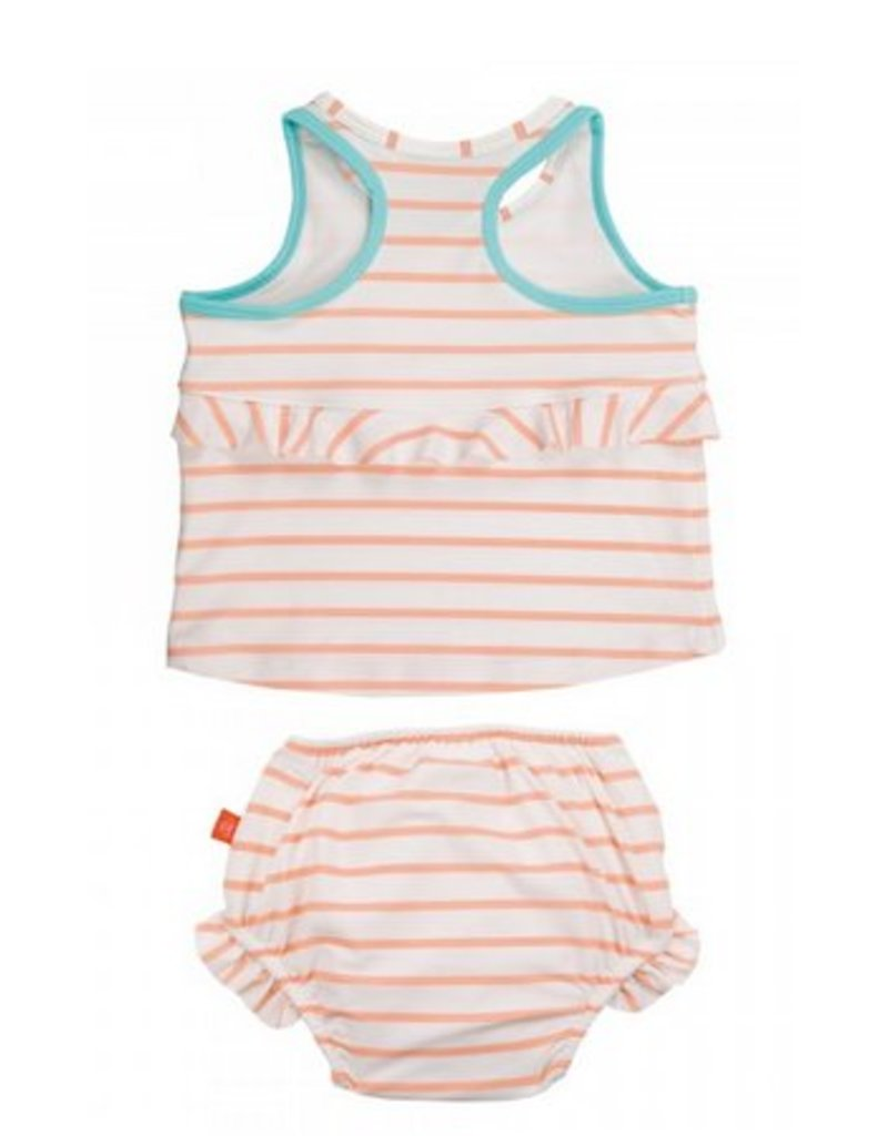 LASSIG Sailor Peach Tankini Set