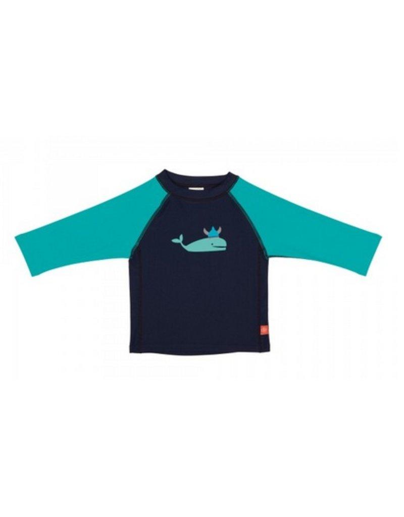 LASSIG Blue Whale Long Sleeve Rashguard