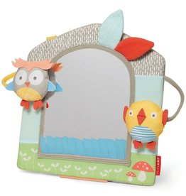 SKIP HOP Treetop Activity Mirror - Grey/Pastel