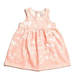 WINTER WATER FACTORY Oslo Baby Dress - The Farm Next Door Blush