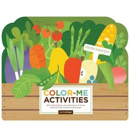 PETIT COLLAGE Fresh Harvest Color-Me Activities