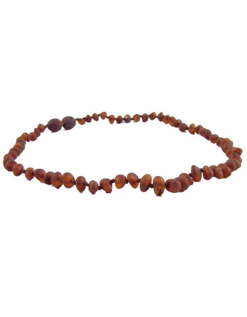 "THE AMBER MONKEY The Amber Monkey 12-13"" Unpolished Screw Clasp Necklace"