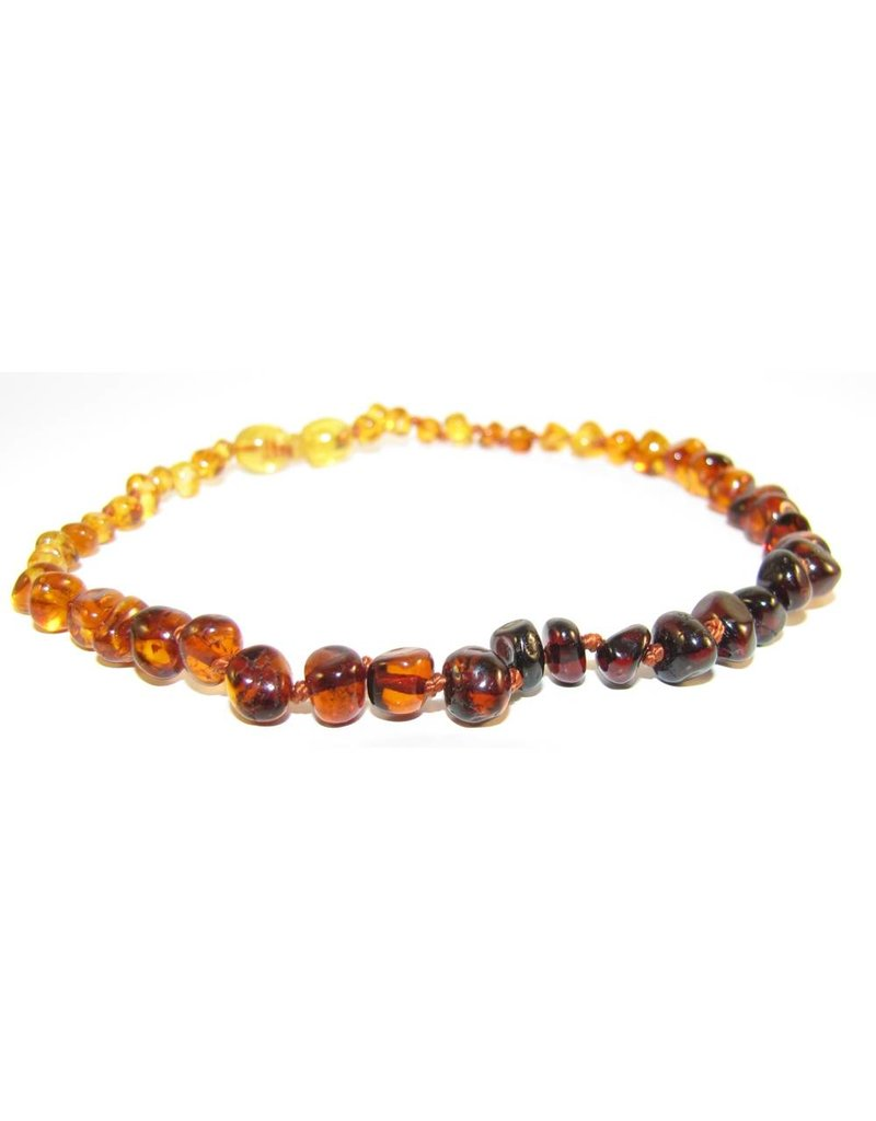 "THE AMBER MONKEY The Amber Monkey 12-13"" Pop Clasp Necklace"