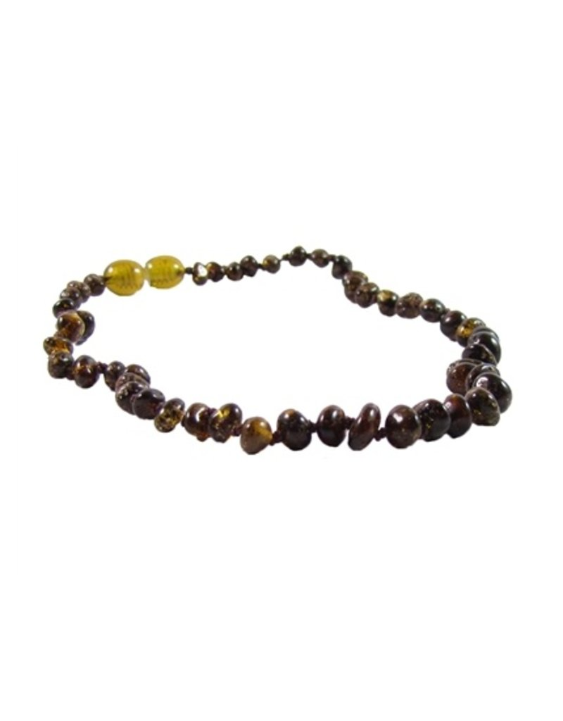 "THE AMBER MONKEY The Amber Monkey 10-11"" Pop Clasp Necklace"