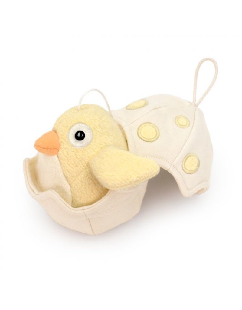 APPLE PARK Musical Baby Bird Pull Toy