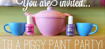 EcoBambino's Annual Piggy Paint Party