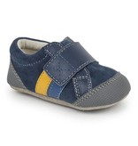 SEE KAI RUN Randall II Navy Crib Shoe