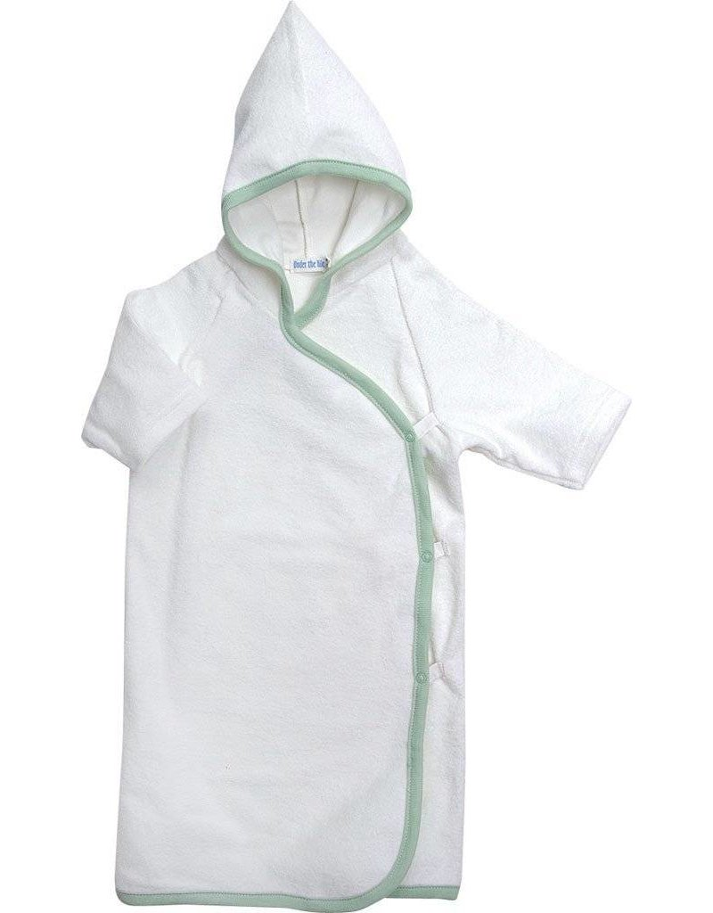 UNDER THE NILE Organic Hooded Bath Kimono