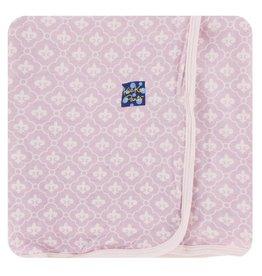 KICKEE PANTS Fleur de Lis Swaddling Blanket