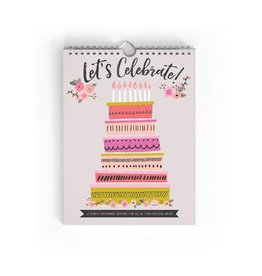 LUCY DARLING Let's Celebrate! Birthday Book