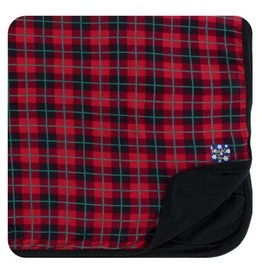 KICKEE PANTS Plaid Stroller Blanket