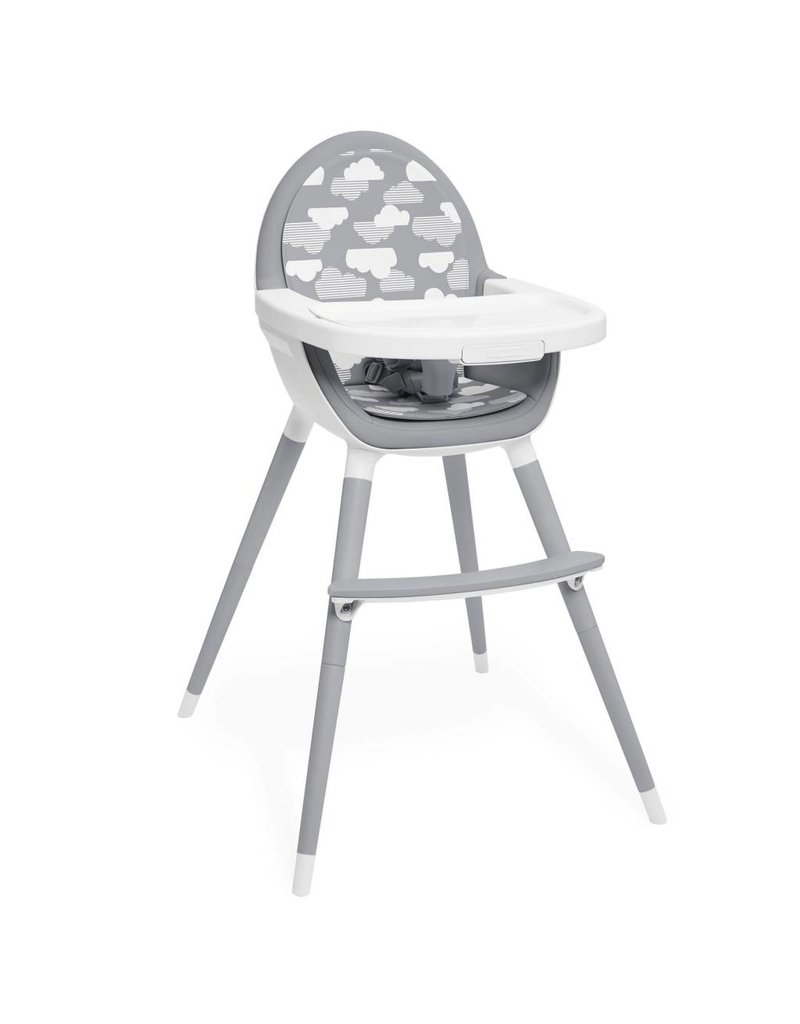 SKIP HOP Tuo Convertible High Chair Grey/Clouds