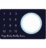 BLUSH & BLUE Blush & Blue Monthly Memory Blanket