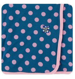 KICKEE PANTS Twilight Dot Swaddling Blanket