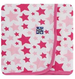 KICKEE PANTS Flamingo Star Swaddling Blanket