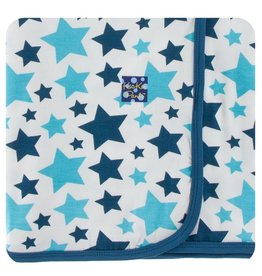 KICKEE PANTS Confetti Star Swaddling Blanket