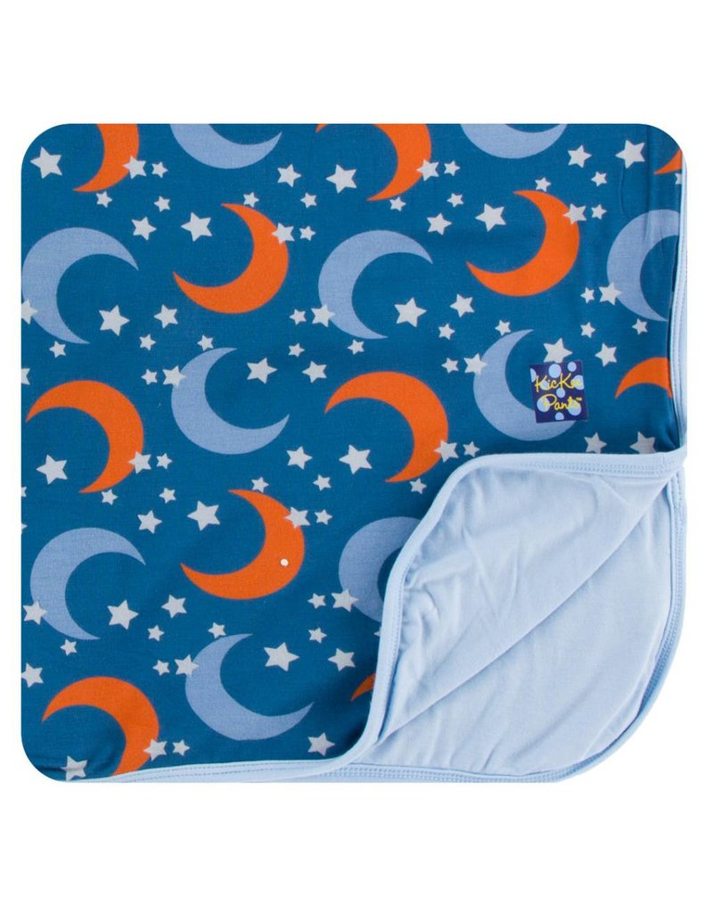 KICKEE PANTS Twilight Moon & Stars Toddler Blanket
