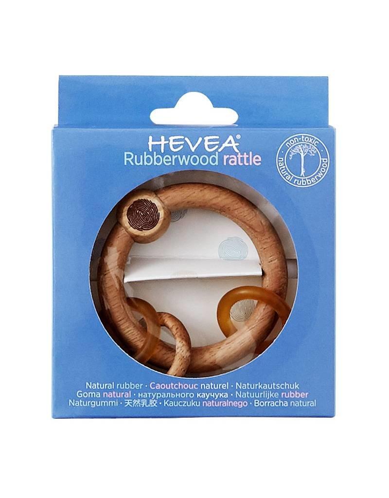 HEVEA Hevea Rubberwood Natural Rattle