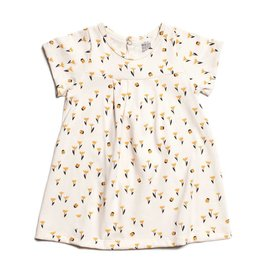 WINTER WATER FACTORY Florence Baby Dress - Tulips Yellow