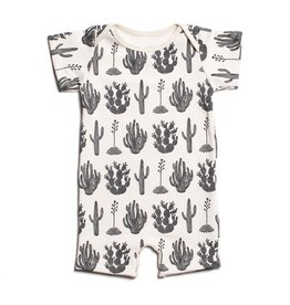 WINTER WATER FACTORY Summer Romper - Cactus Black