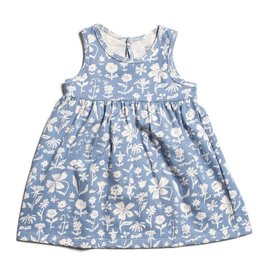 WINTER WATER FACTORY Oslo Baby Dress - Garden Blue