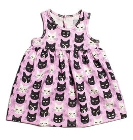 WINTER WATER FACTORY Oslo Baby Dress - Cats Lavender