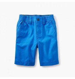 TEA COLLECTION Tea Tropic Blue Canvas Travel Shorts