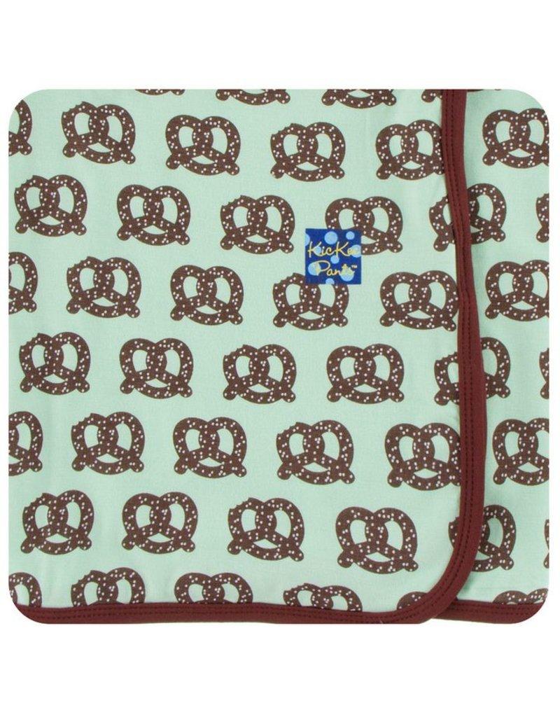 KICKEE PANTS Giant Pretzel Swaddling Blanket