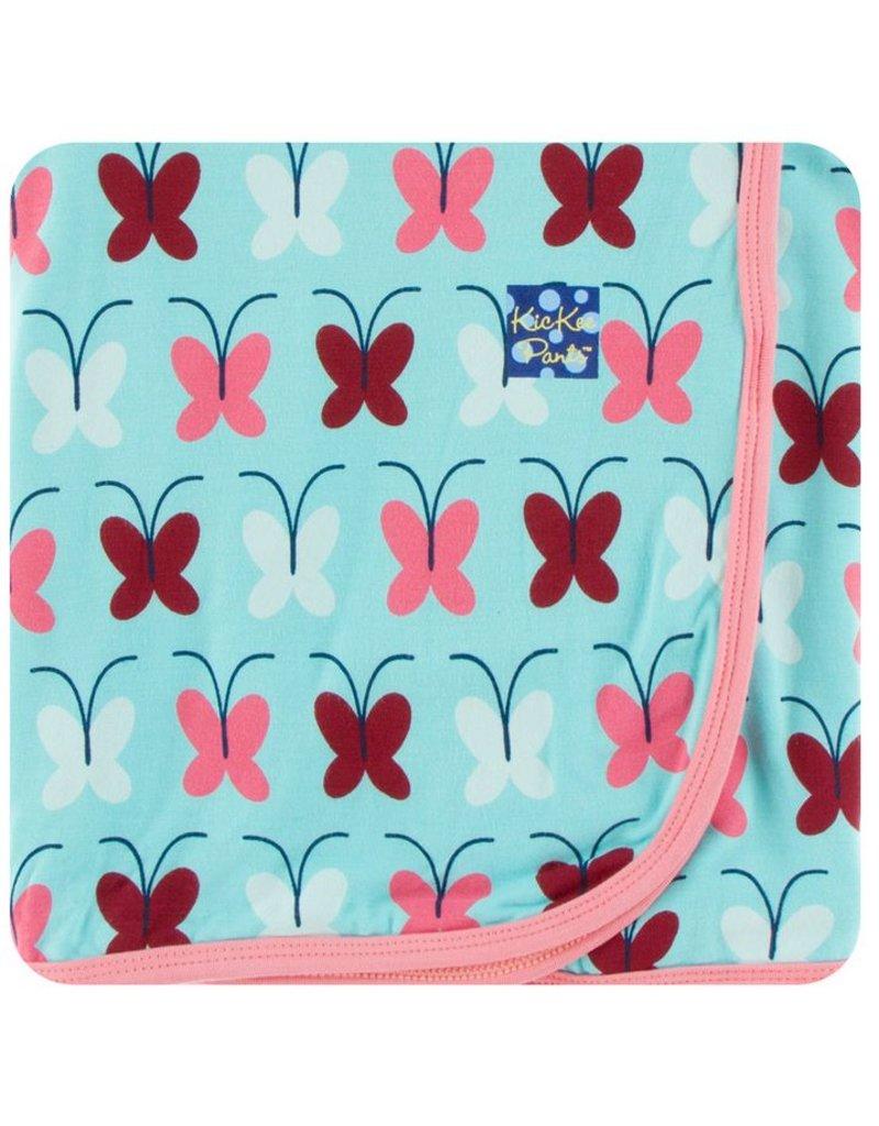 KICKEE PANTS Tallulah's Butterfly Swaddling Blanket