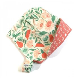 URBAN BABY BONNETS ecoBonnet in Organic Blossom
