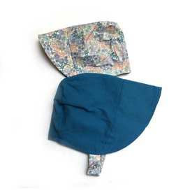 URBAN BABY BONNETS modBonnet in Blueberry Blossom