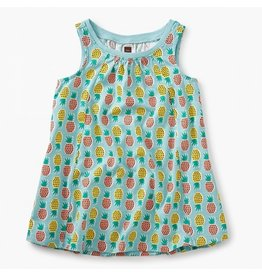 TEA COLLECTION Tea Pineapples Trapeze Baby Dress