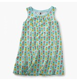TEA COLLECTION Tea Pineapples Trapeze Dress