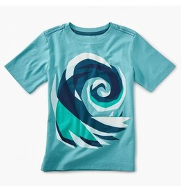 TEA COLLECTION Tea Crashing Wave Graphic Tee