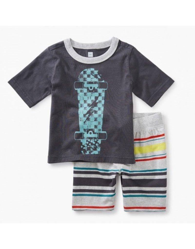 TEA COLLECTION Tea Skateboard Baby Outfit