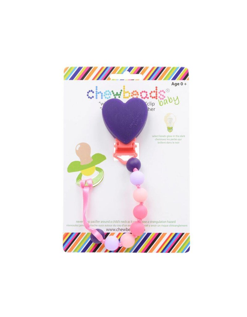 CHEWBEADS Chewbeads Pacifier Clip
