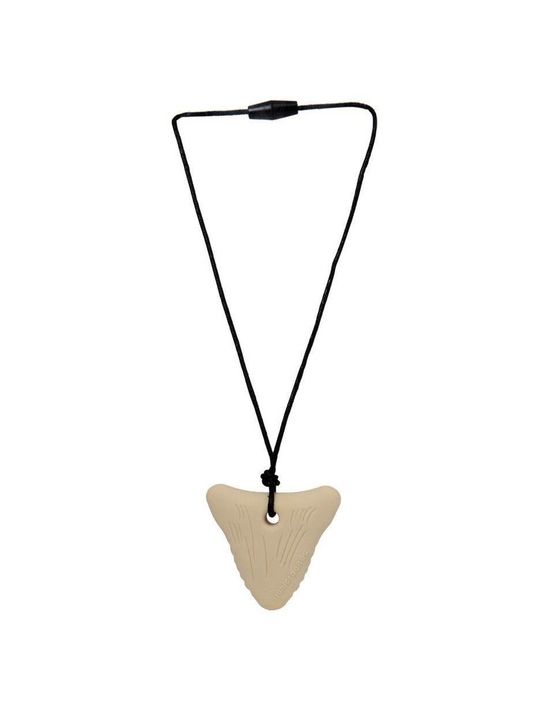 tone adjustable pendant shark necklace tooth two detail