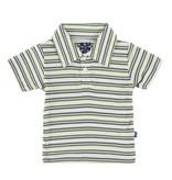 KICKEE PANTS Boy Fresh Water Stripe Polo