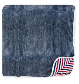KICKEE PANTS Denim Toddler Blanket