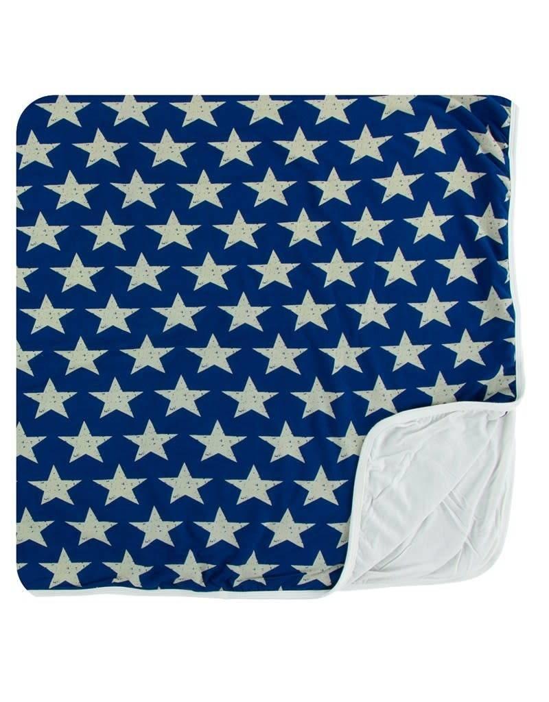 KICKEE PANTS Vintage Stars Toddler Blanket