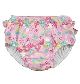 IPLAY Ruffle Snap Swimsuit Diaper